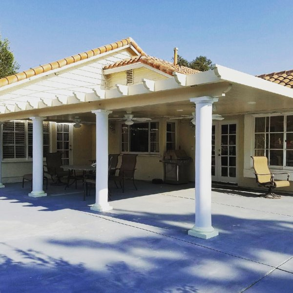 Columns And Custom Patio Covers