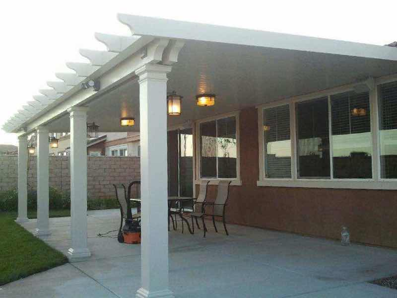 Patio Cover Installation Completed In Jurupa Valley CA