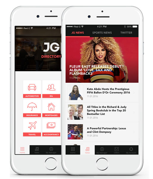 JGS Services HTML5 Mobile App