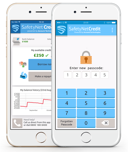 SafetyNet Credit Financial App