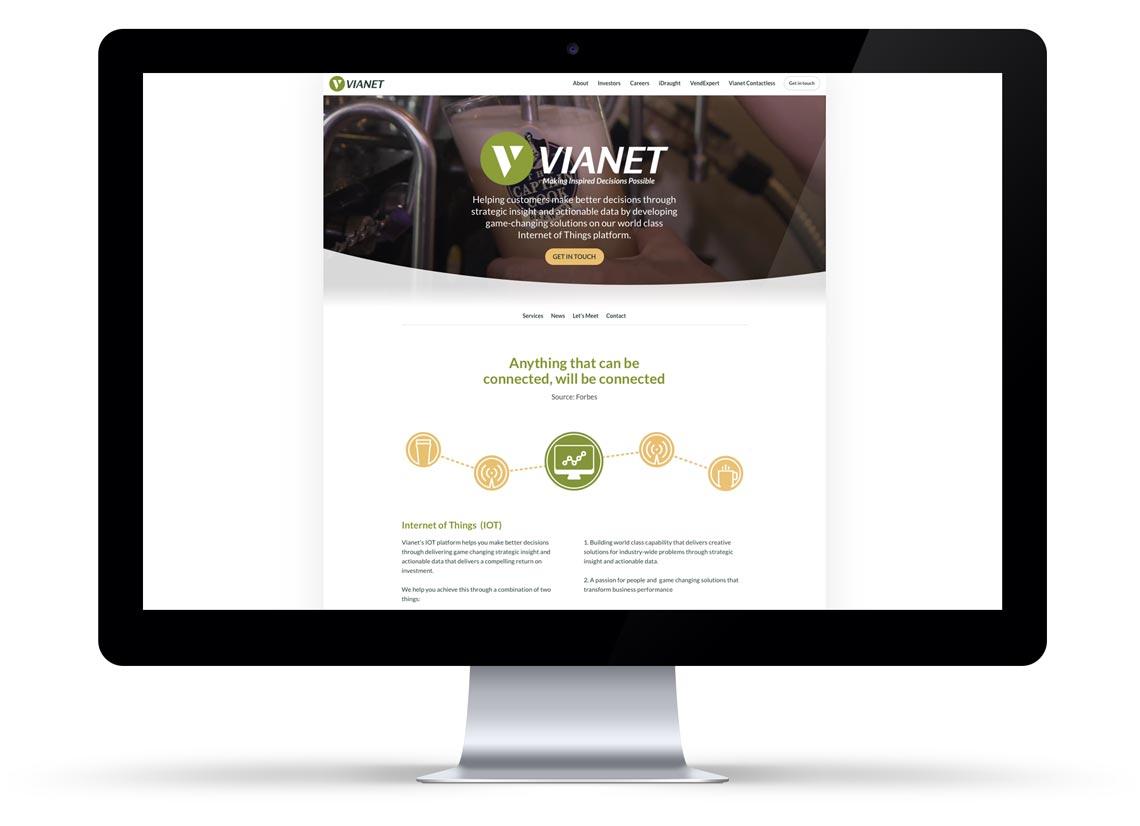 Vianet CMS platform