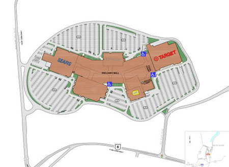 Berkshire mall accessibility map