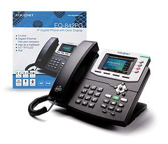 equiinet 842 color gigabit phone