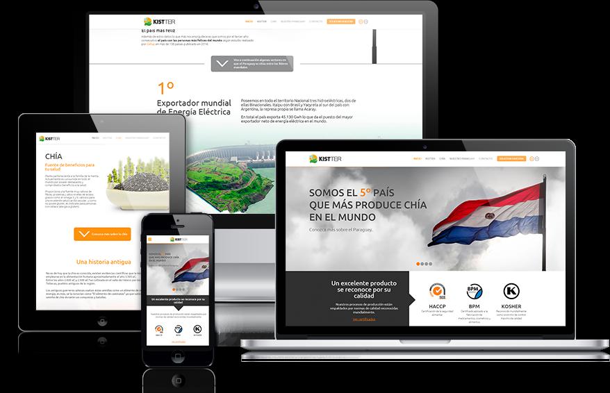 Sitio web comercial