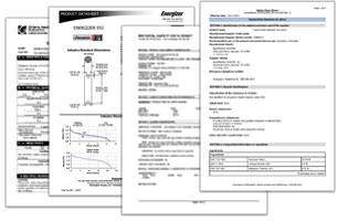 Safety Data Sheets Thumbnail