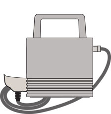 PosiTector 6000 PRBFNGS Probe illustration