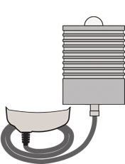 PosiTector 6000 PRBFLS Probe illustration