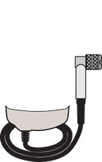 PosiTector 6000 PRBFRS Probe illustration
