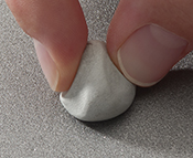prepare the surface with cleaning putty