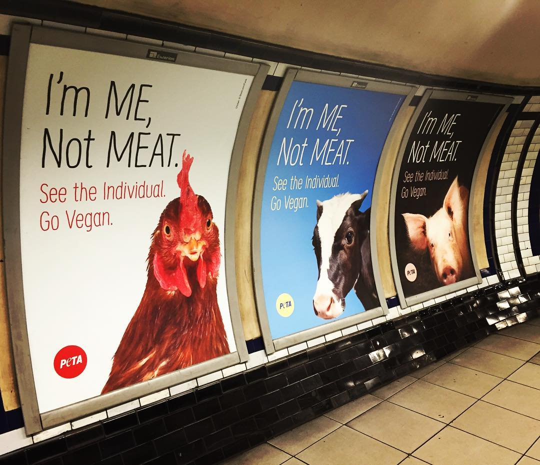 Vegan Poster Take Over London