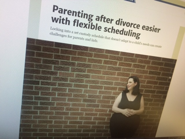 Parenting After Divorce Easier With Flexible Scheduling