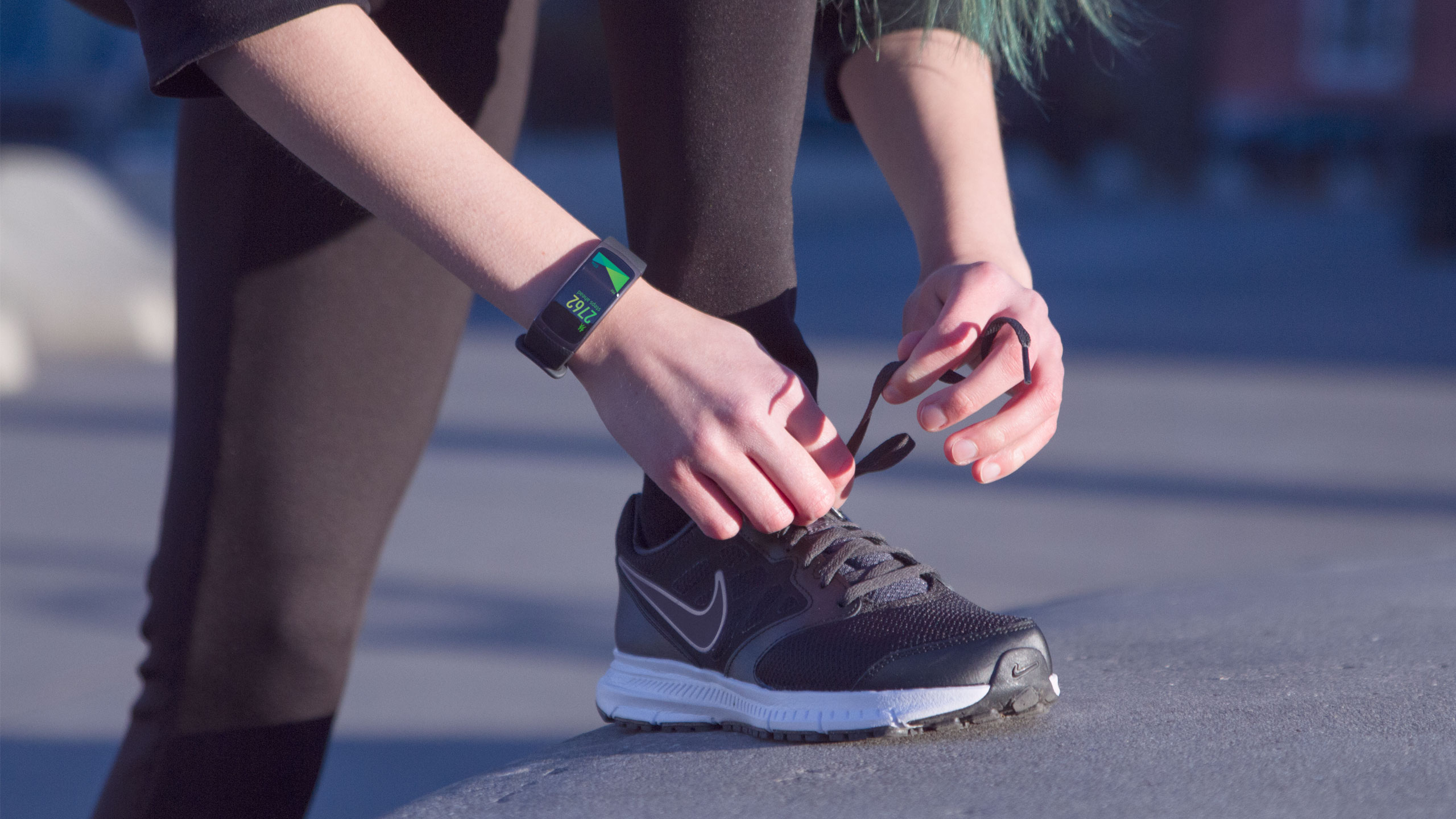 Gear Fit 2, designing for impact