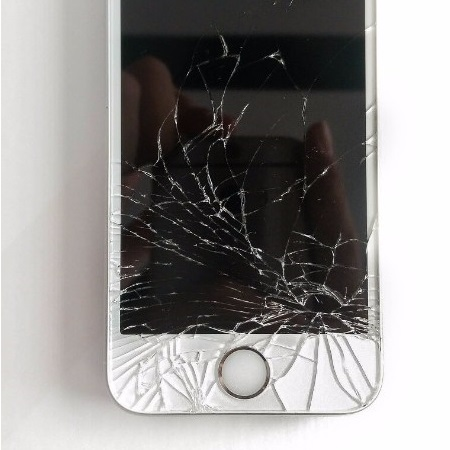 Cracked Screen iPhone