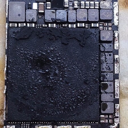 iPhone motherboard