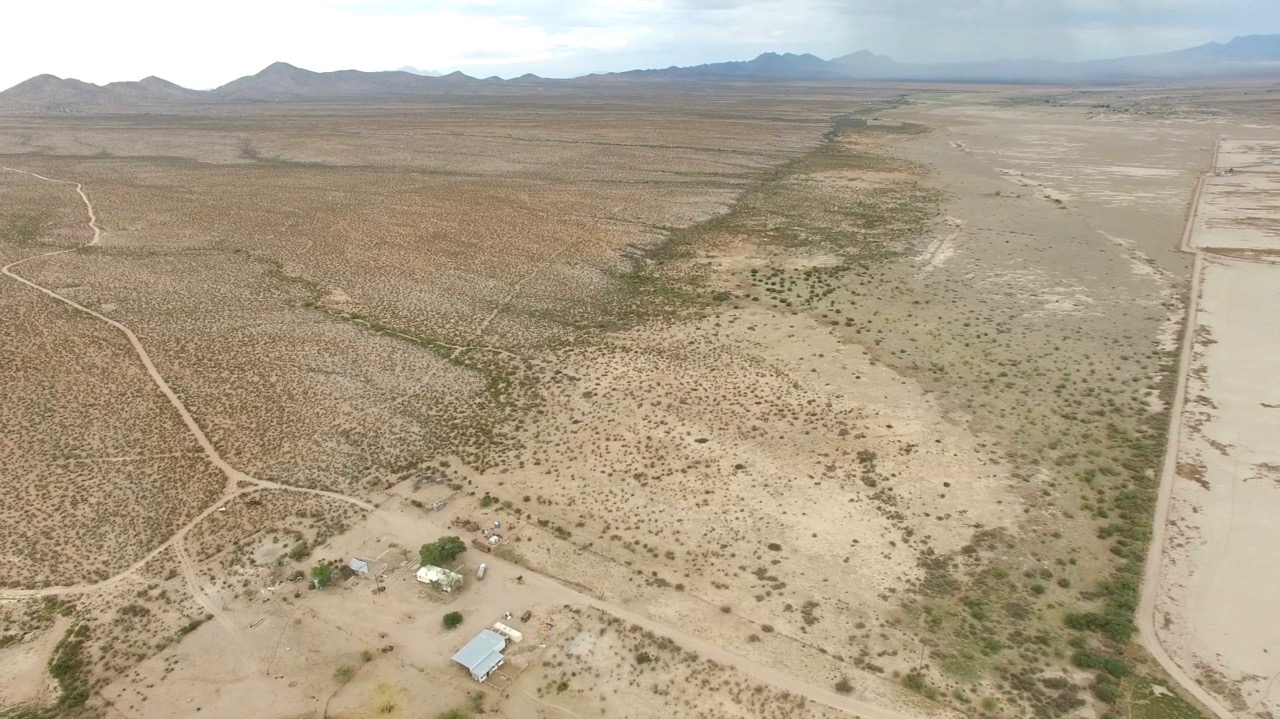 Aerial view of the Bootheel Ranch from near the NorthWest Corner