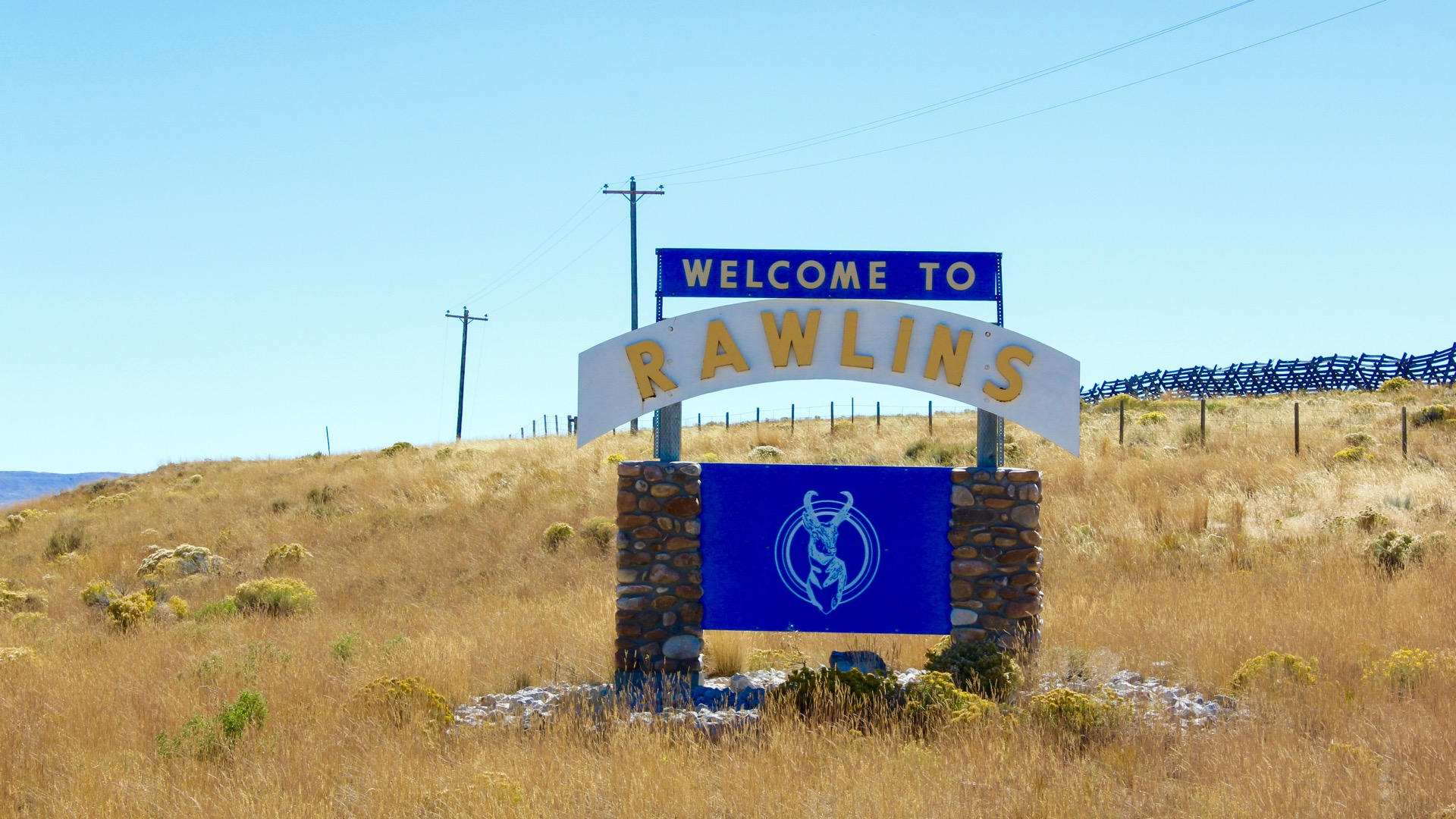 Rawlins is the County Seat of Carbon County, Wyoming