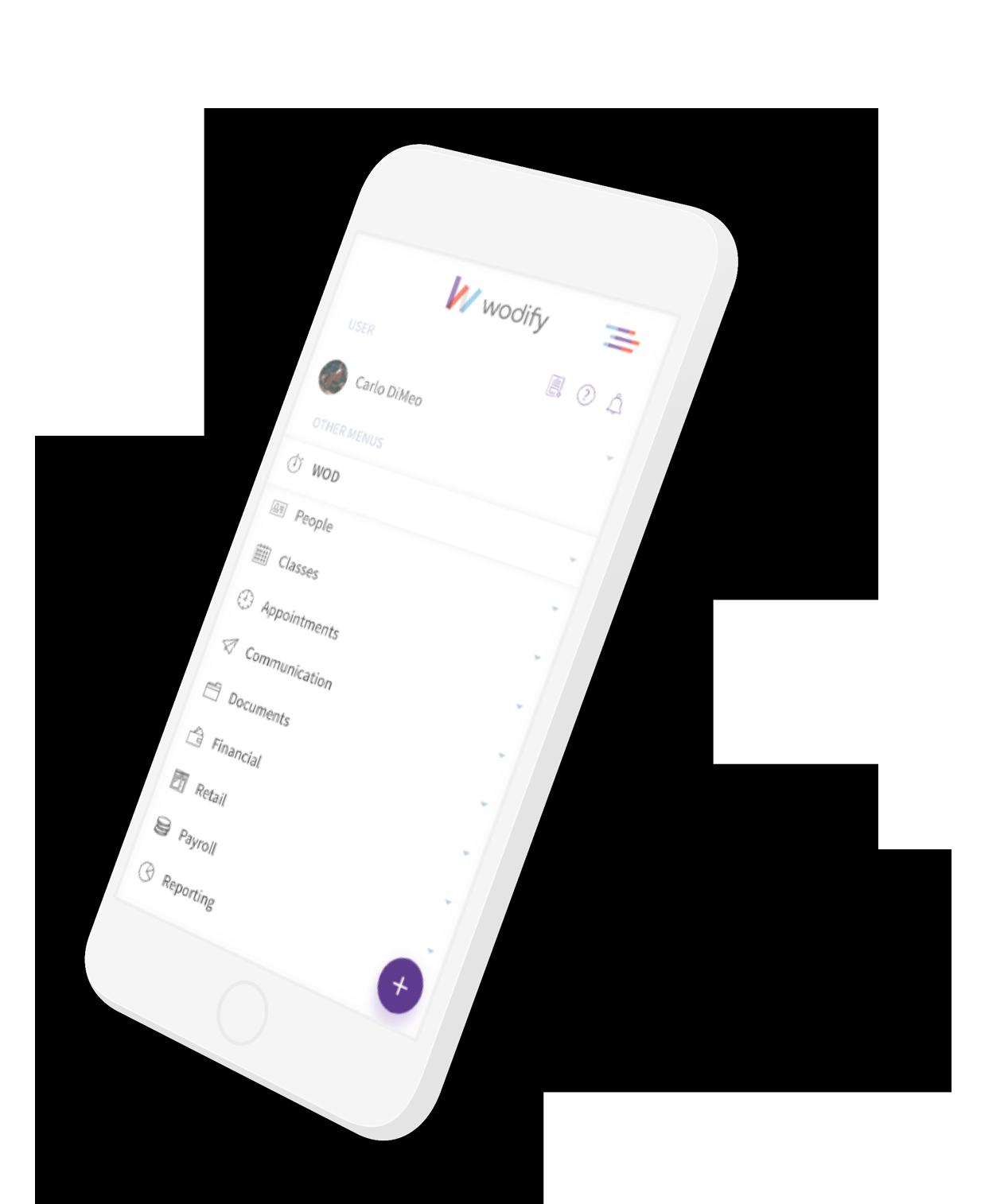 Admin App Mobile Screen
