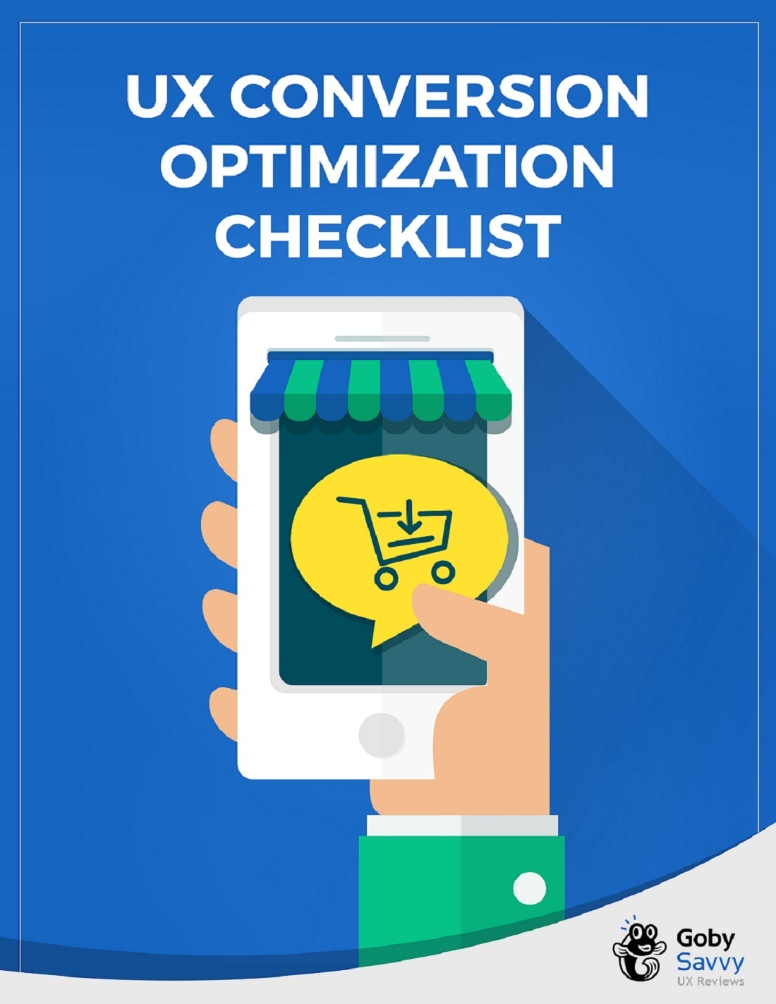 UX Conversion Optimization checklist cover