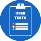 User testing template example