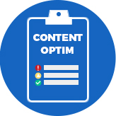 Content and copy optimization example