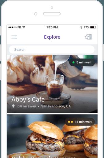 Browse menu