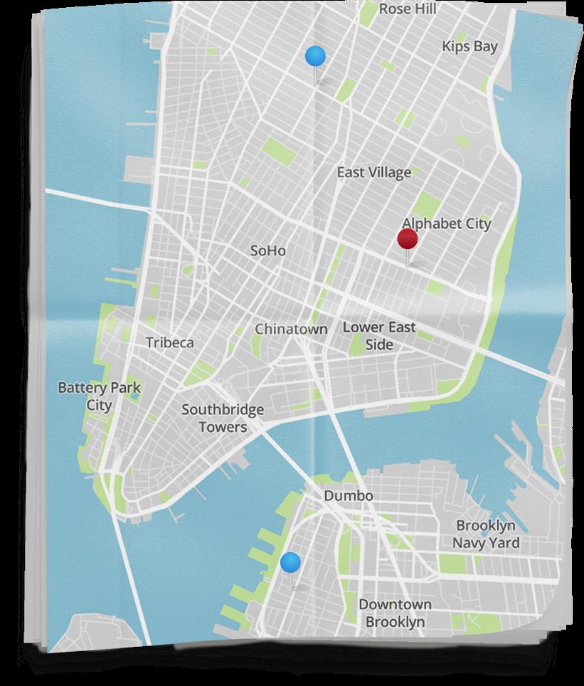 AltSchool New York - Nyc pre k map