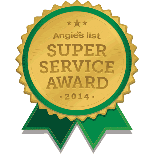 2015 Angies List Super Service Award
