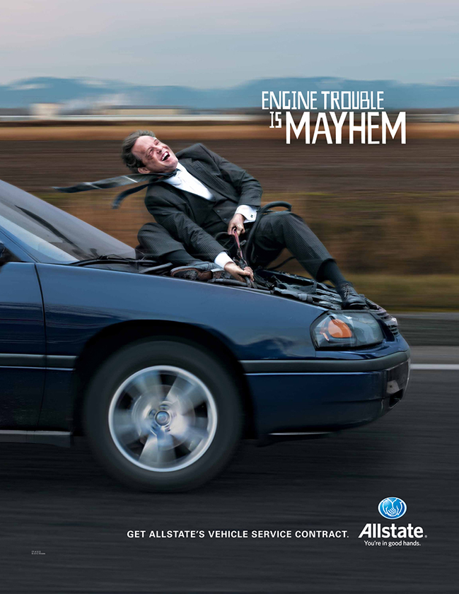Allstate Dealer Services Mayhem Campaign
