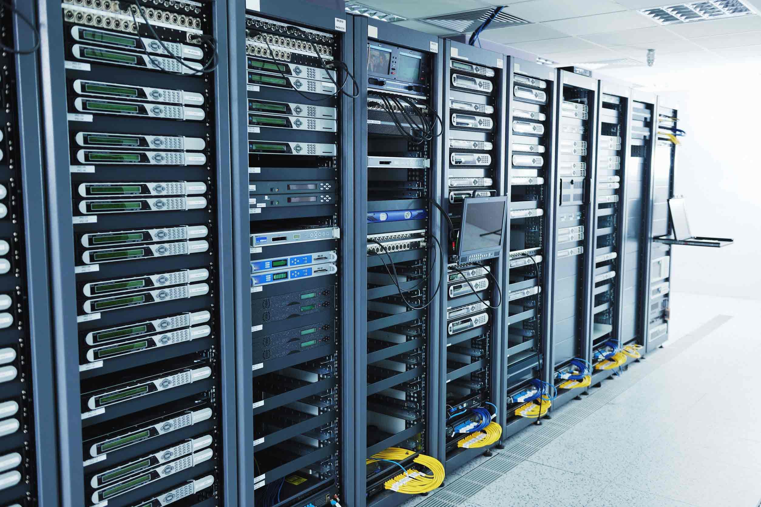 server space underground