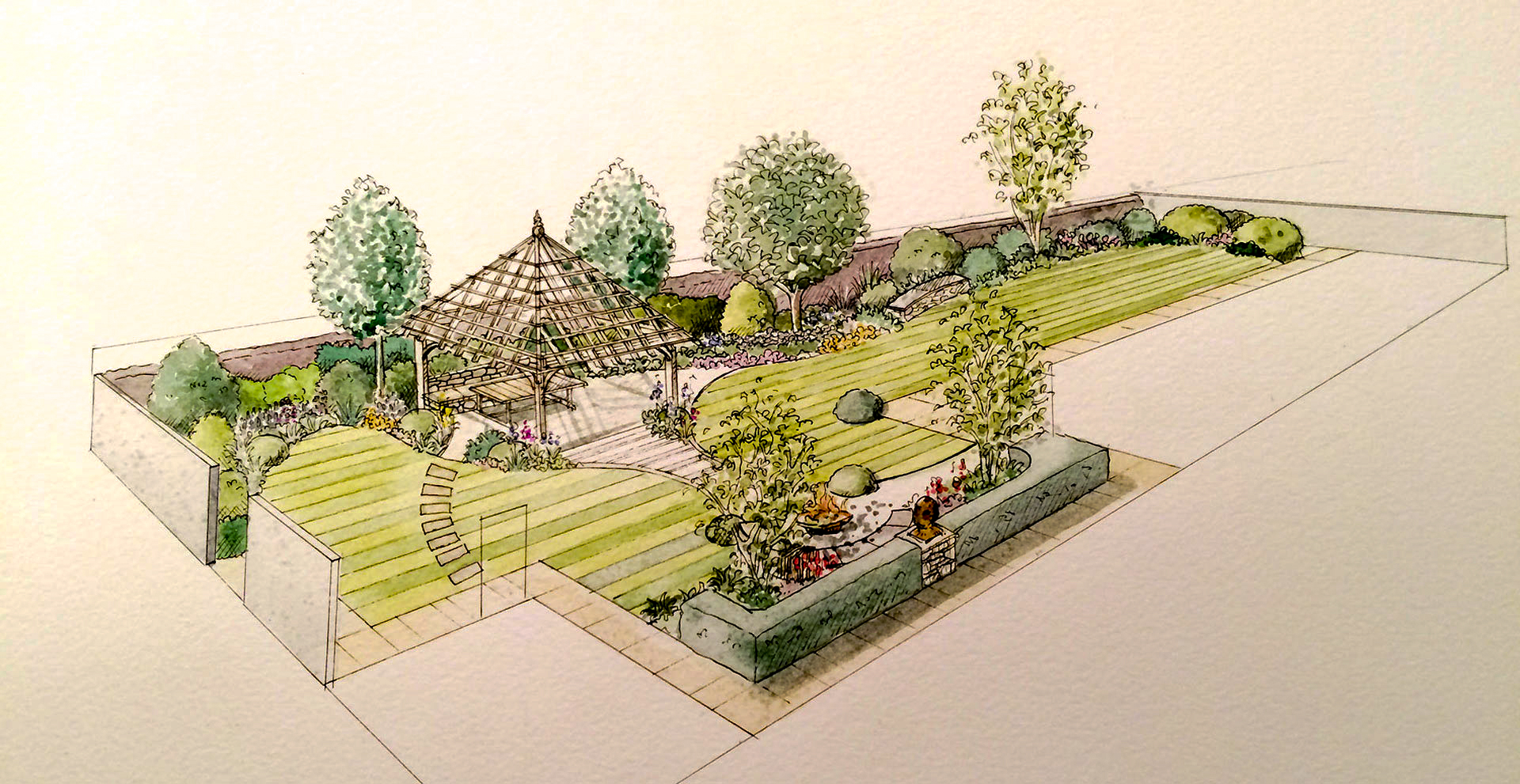garden design in bournemouth, poole and dorset | tom hill