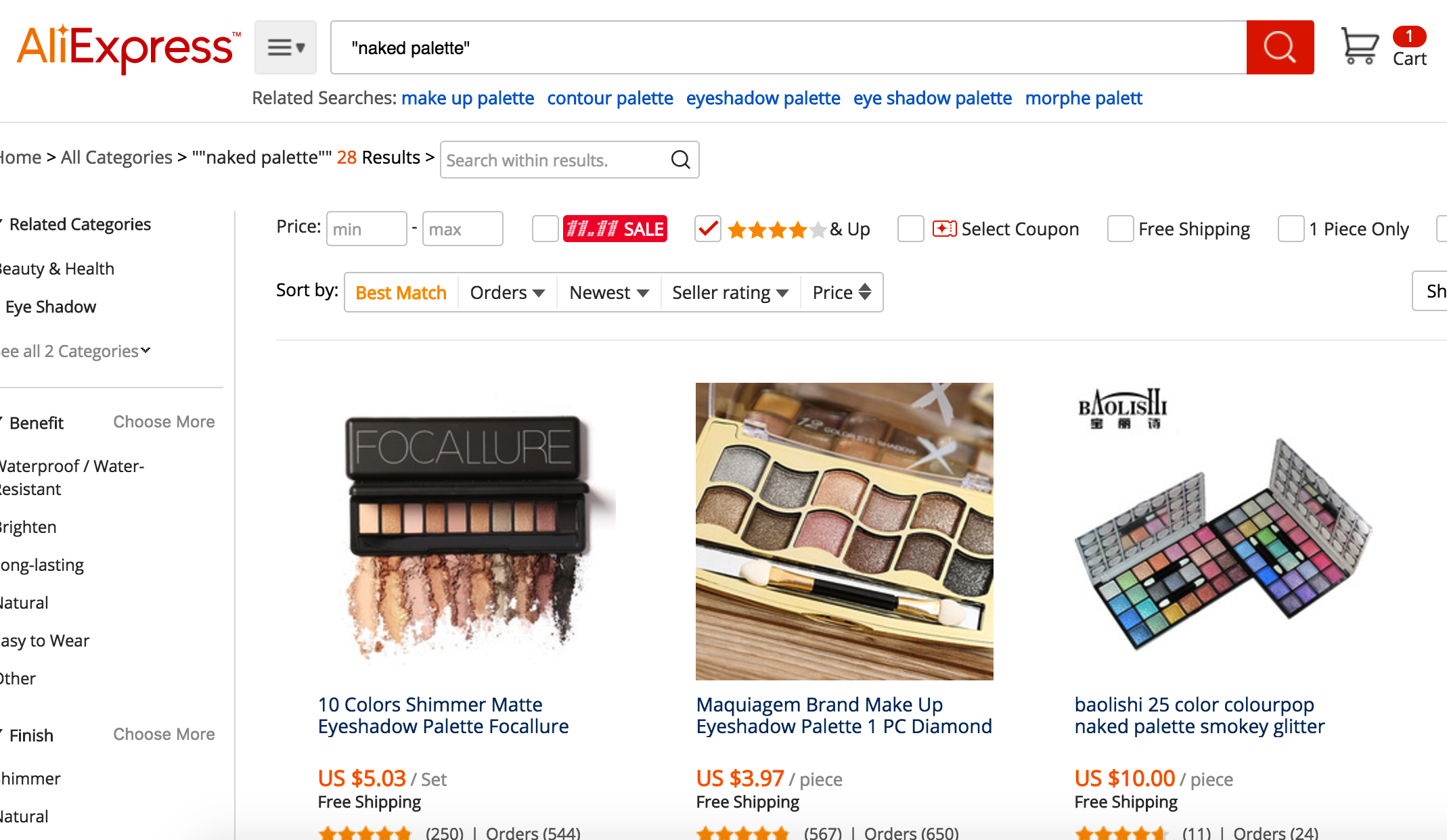 How on Aliexpress to look for the product from the photo