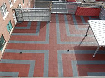 Hotel Dieu Canada Roof terrace 1 Photo