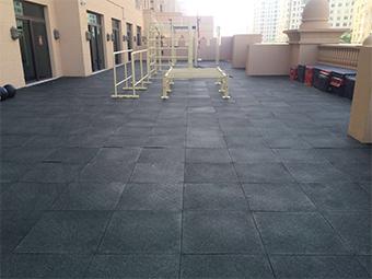 Rooftop Gym Dubai UAE Photo