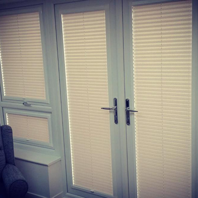 perfect fit blinds on conservatory doors