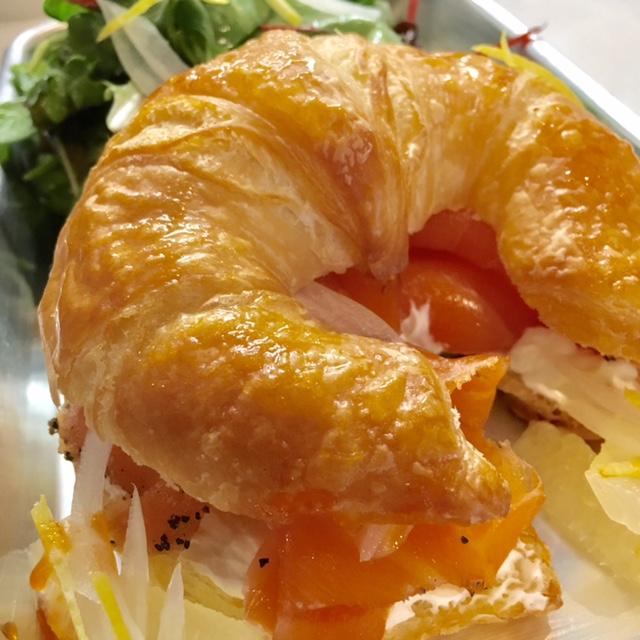 Smoked Salmon Croissant