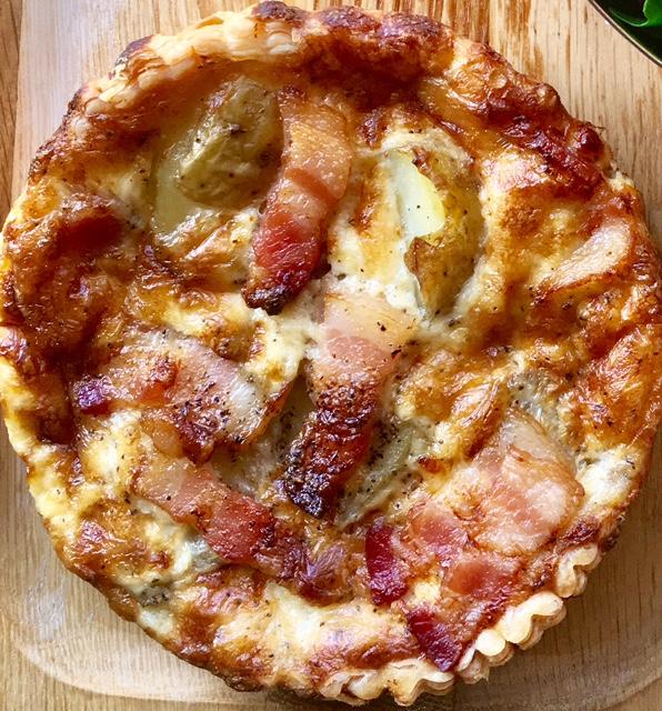 Potato Bacon Quiche