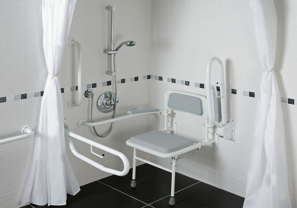 Healey & Lord Economy Doc M Shower Pack - White Rails