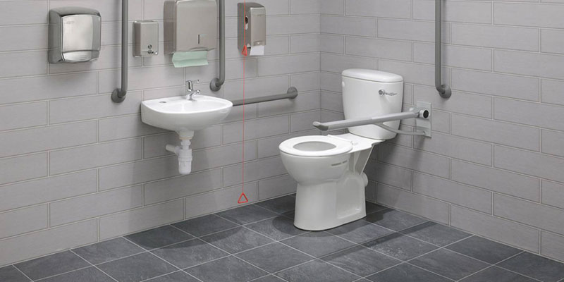 Zero 100 Economy Close Coupled Disabled Toilet Pack