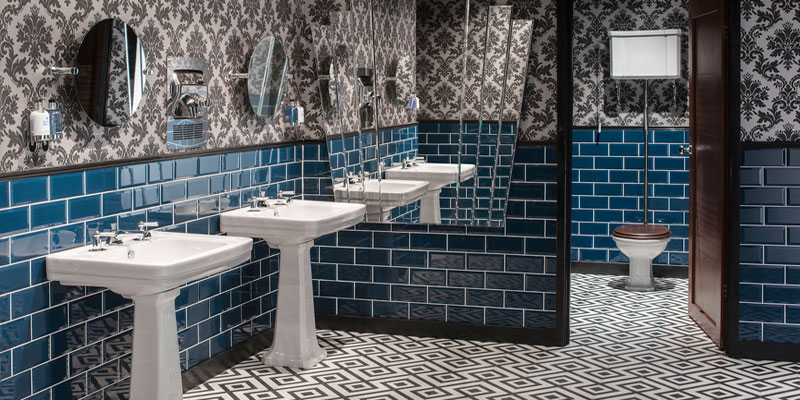 Chicago Traditional Art Deco Bathroom Suite