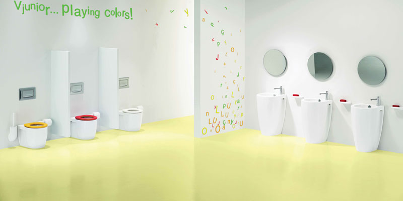 Junior 1 Designer Childrens Toilets