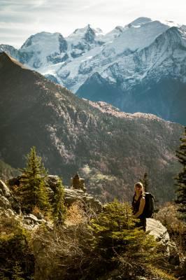 Mont Blanc in autumn