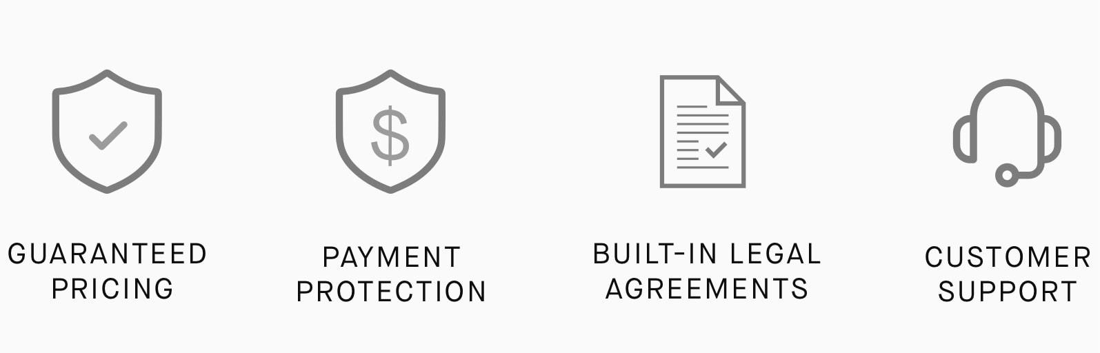icons of benefits
