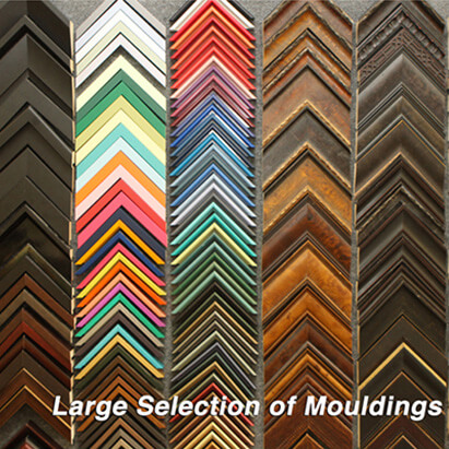 Large selection of quality mouldings