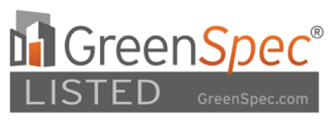 green spec listed logo