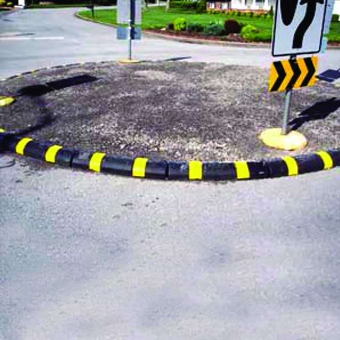 Rubber Curb System