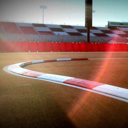 Race Track Rubber Curbing