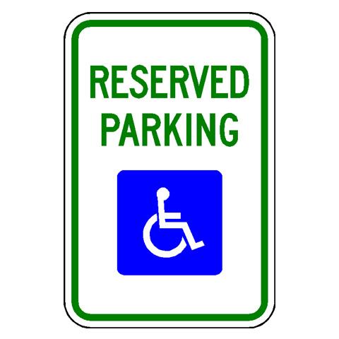 Disabilities Sign
