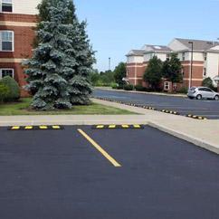 Parking Lot Wheel Stops