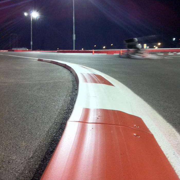 Race Track Rubber Curbing | RubberForm Products