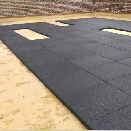 Rubber Patio Paver Tiles | RubberForm Recycled Products